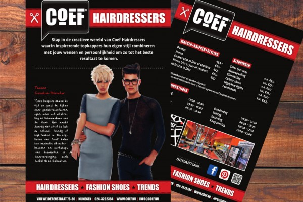 Folders COEF Hairdressers