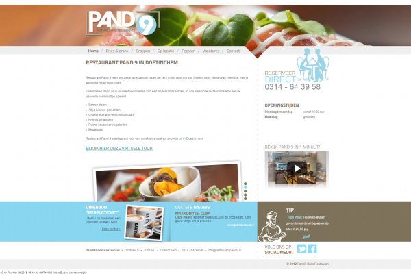Website Pand9