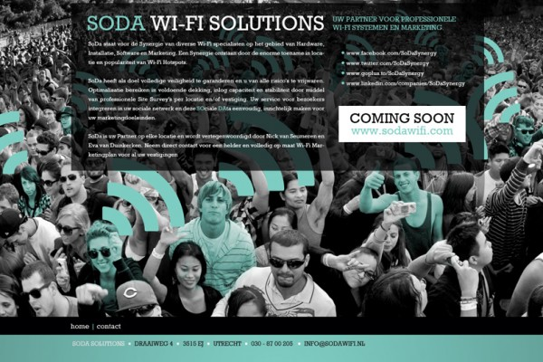Website Soda WI-FI Solutions