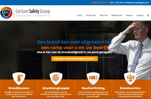 Website Certum Safety Group