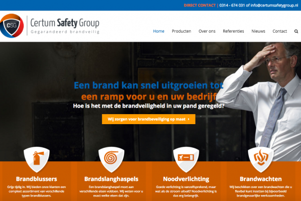 Website Certum Safety Group