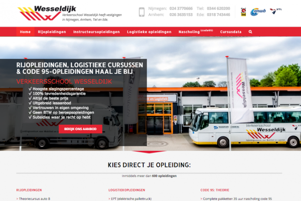 Website Wesseldijk