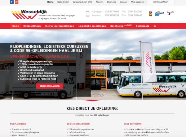 Website Wesseldijk