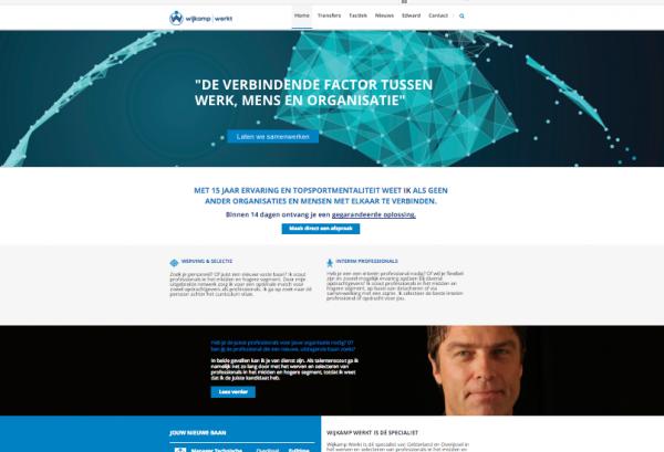 Website Wijkamp Werkt
