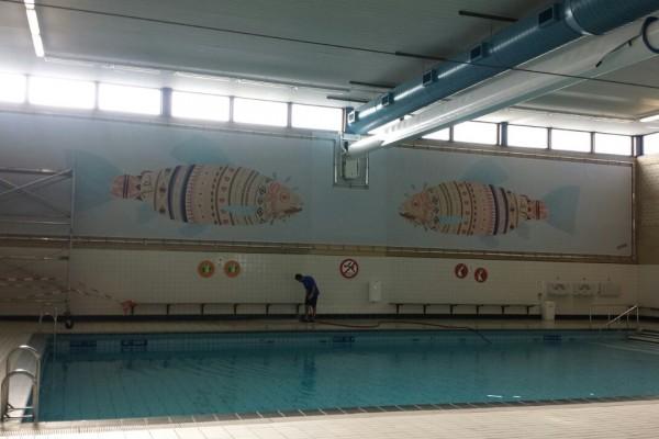 Zwembad frame