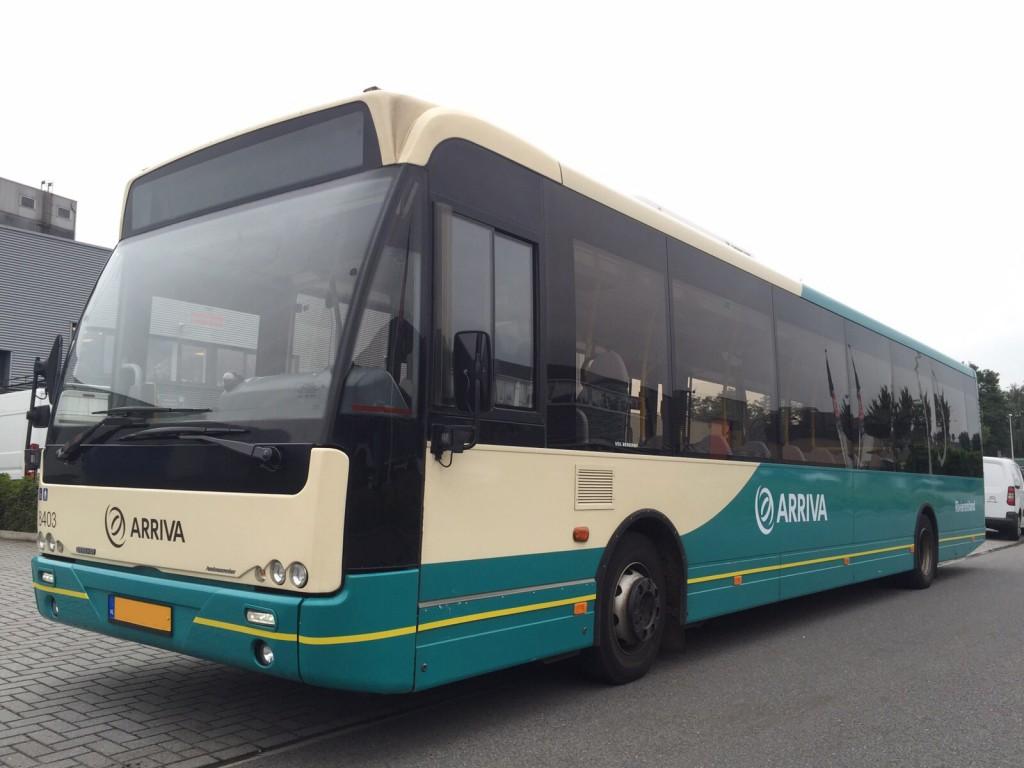 Bus belettering Arriva