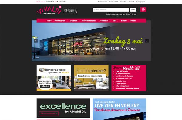 Webshop Vivaldi XL Zevenaar