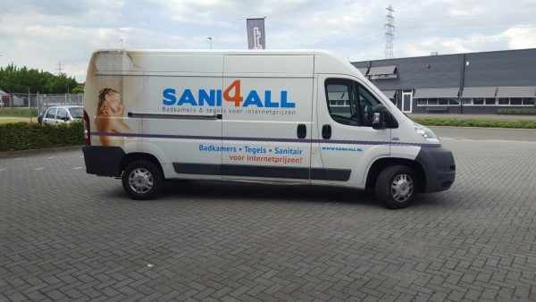 Autobelettering Sani4all