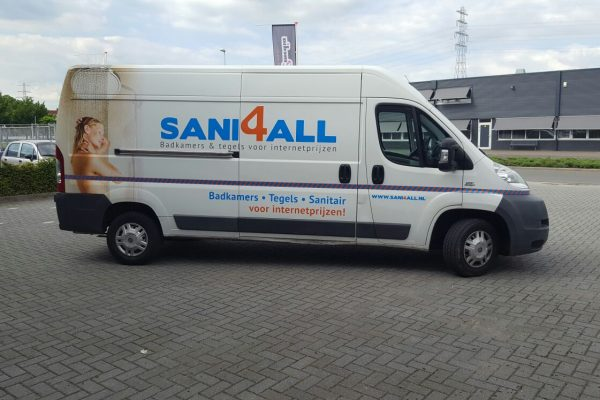 Autobelettering Sani4all