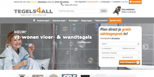 Website Tegels4all