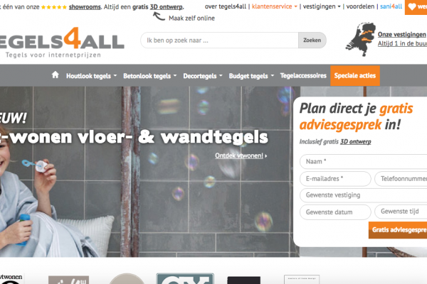 Website Tegels4all