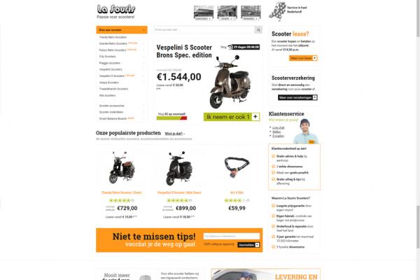 Webshop La Souris Scooters