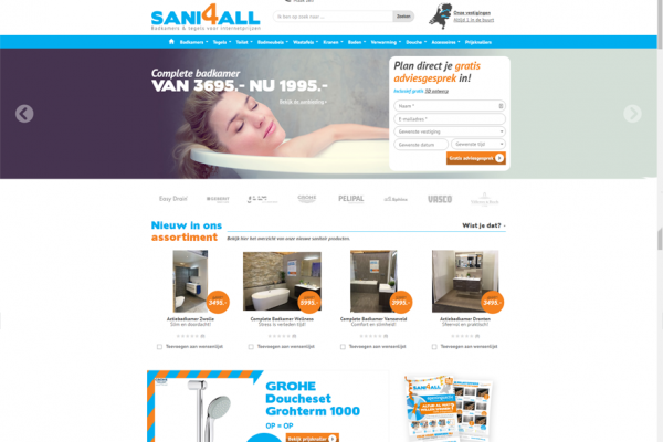 Website Sani4all