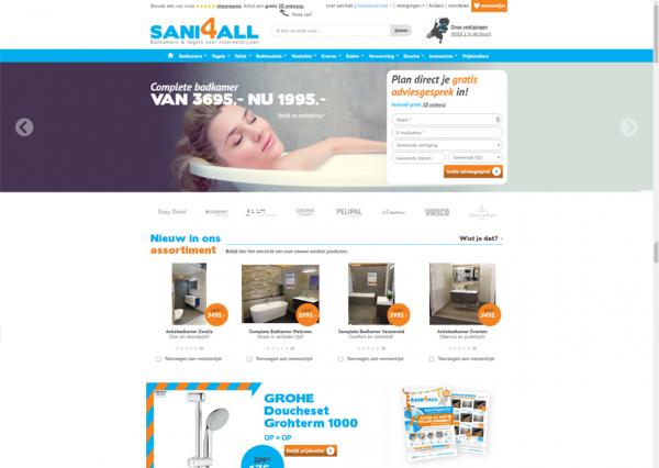 Website Sani4all