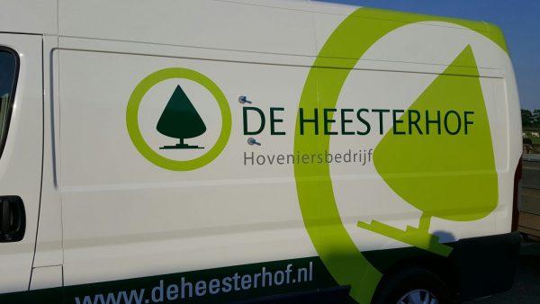 Autobelettering De Heesterhof