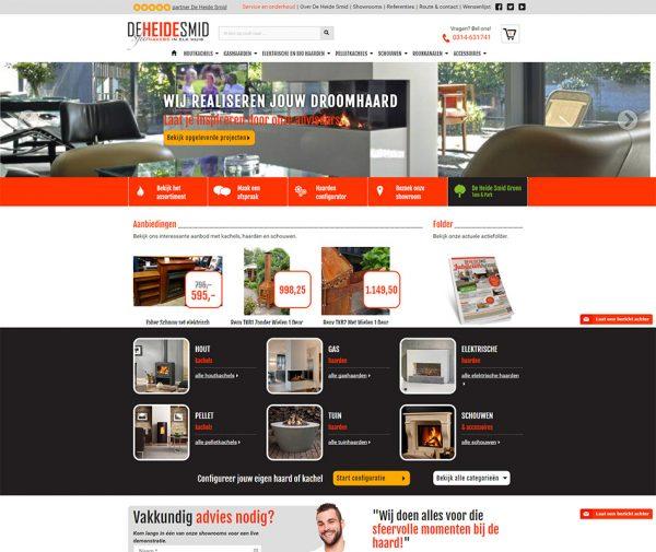 Website De HeideSmid