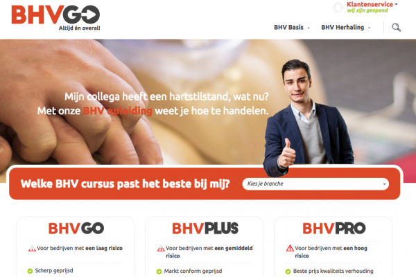 Website BHV GO