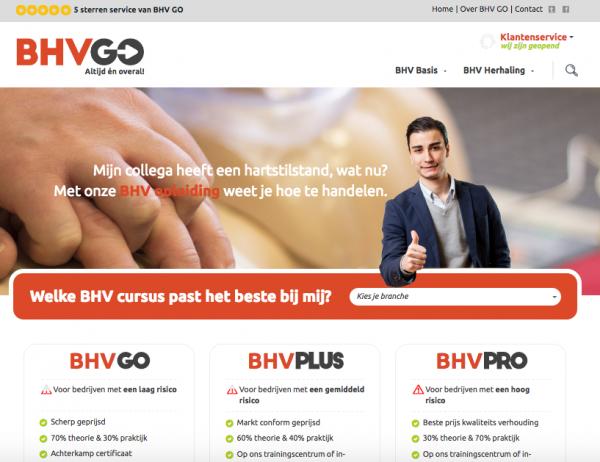 Website BHV GO