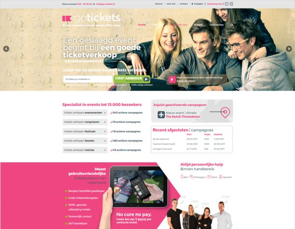 Website GO-tickets
