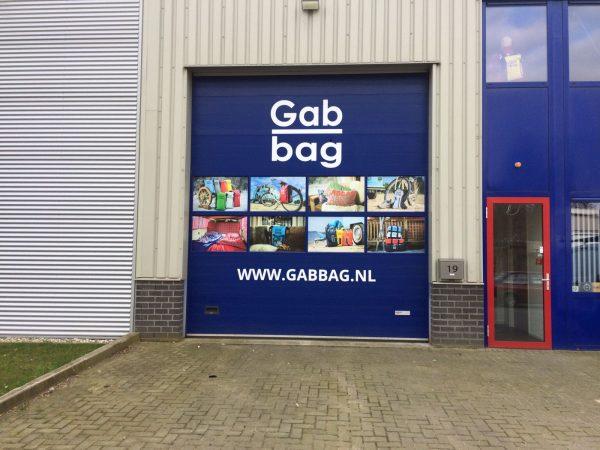 Belettering Gabbag
