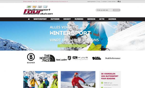 Website Buitensport Four Seasons