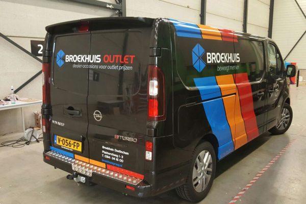 Autobelettering Broekhuis