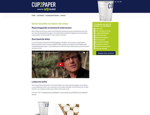 Website Cup2Paper – Suez