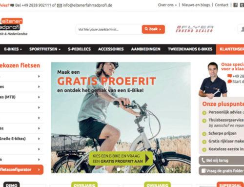 Website Eltener Fahrradprofi