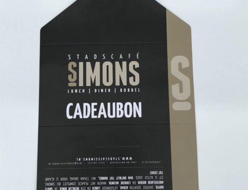 Cadeaubon Stadscafé Simons