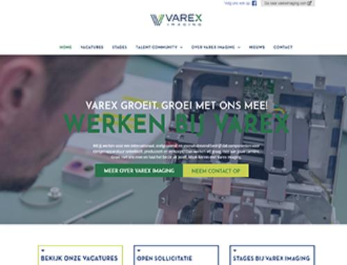 Website Werken bij Varex