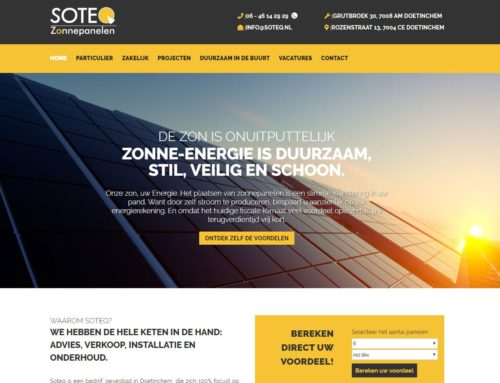 Website Soteq