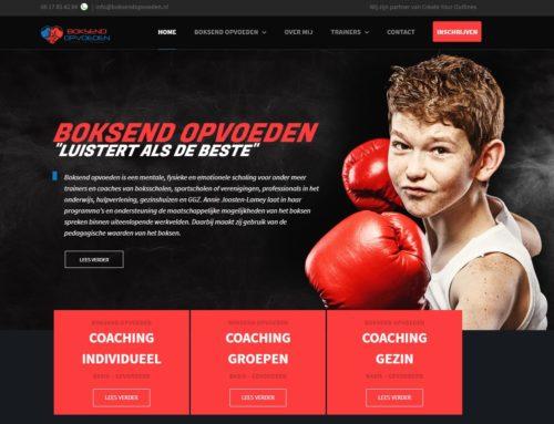 Website Boksend Opvoeden