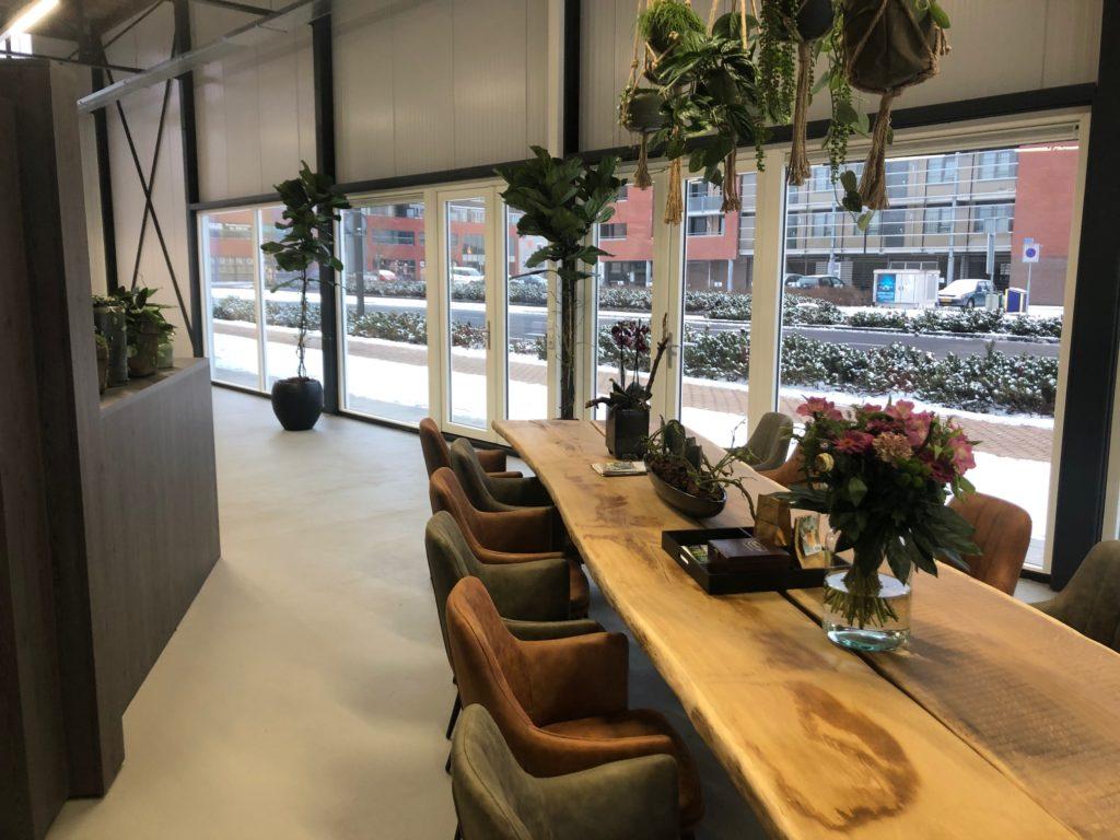 Planten Op Kantoor : Kantoor verder aangekleed met planten mull media