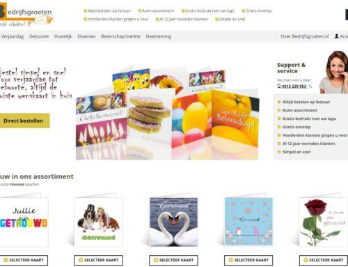 Website Bedrijfsgroeten.nl