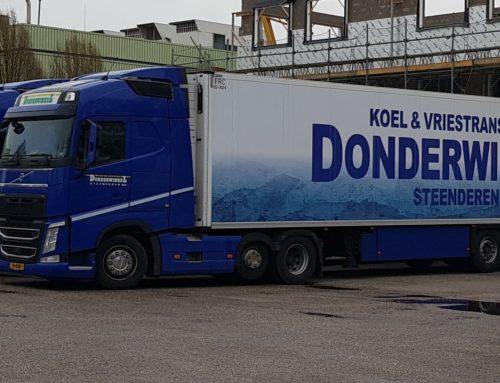 Vrachtwagenbelettering Donderwinkel Transport