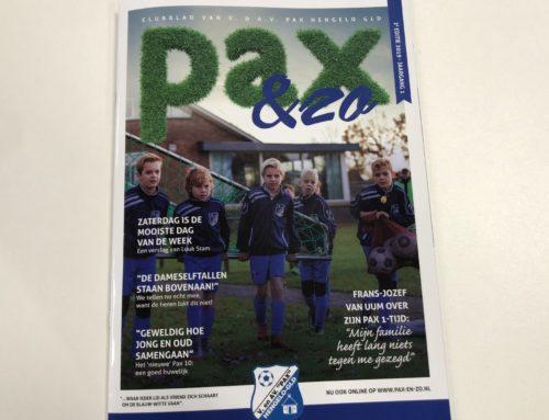 Clubblad Pax: Pax & Zo