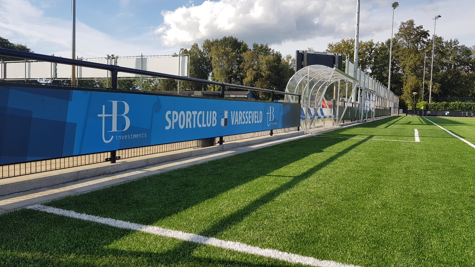 Voetbalveld boarding SC Varsseveld
