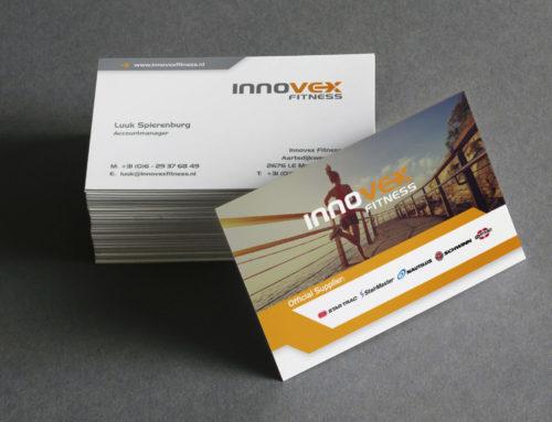 Visitekaartjes Innovex Fitness
