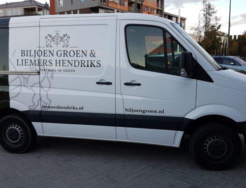 Busbelettering Biljoen Groen & Liemers Hendriks