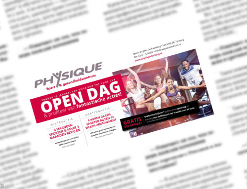 Advertentie Fitness Centrum Physique