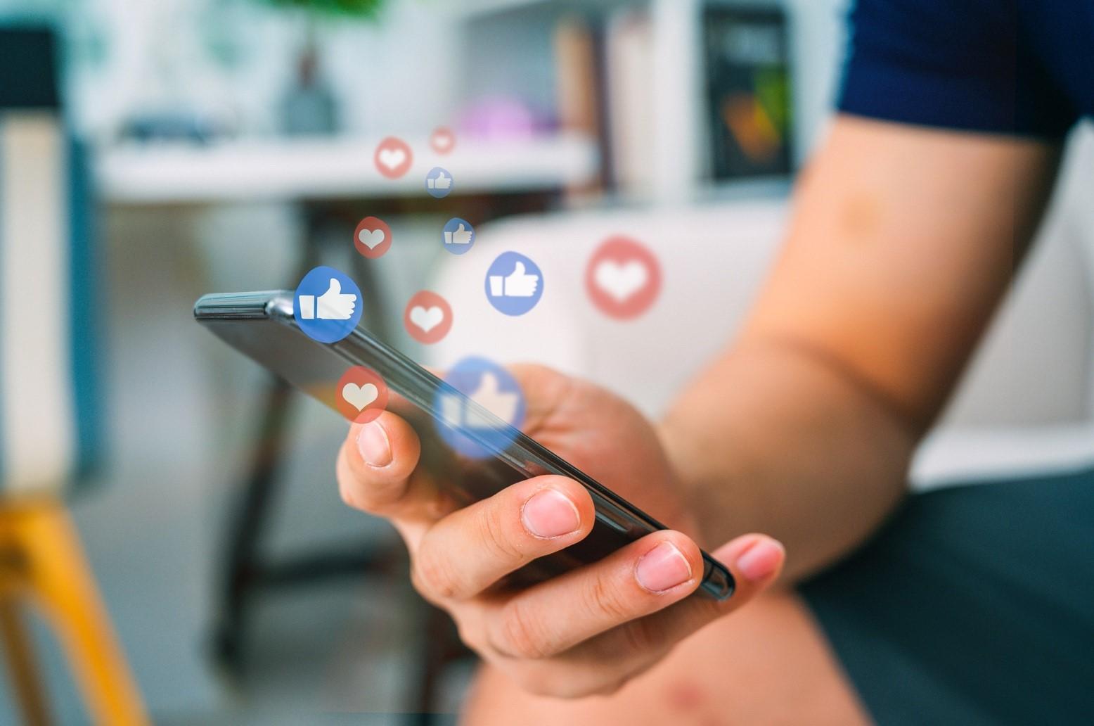 Socialmediakanalen inrichten