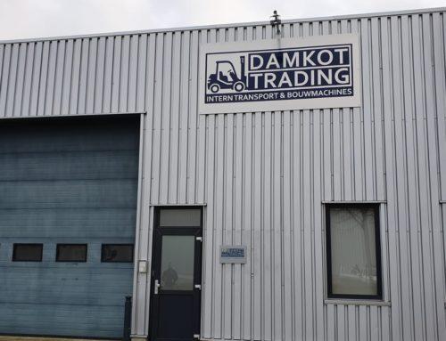 Gevelreclame Damkot Trading