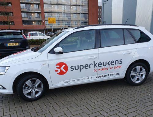 Autobelettering Superkeukens