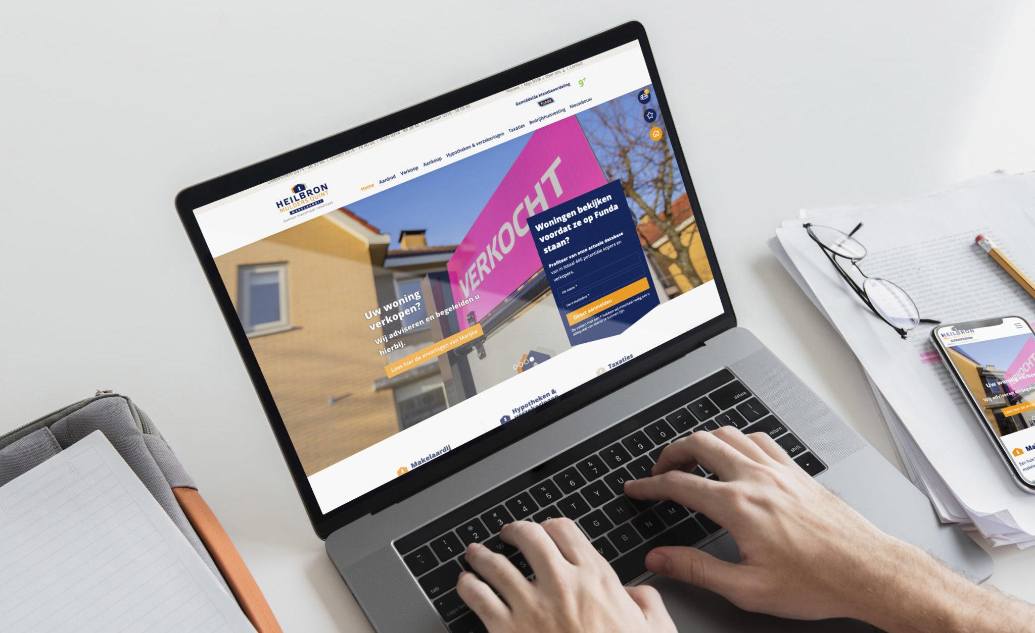 HMQ Makelaardij website